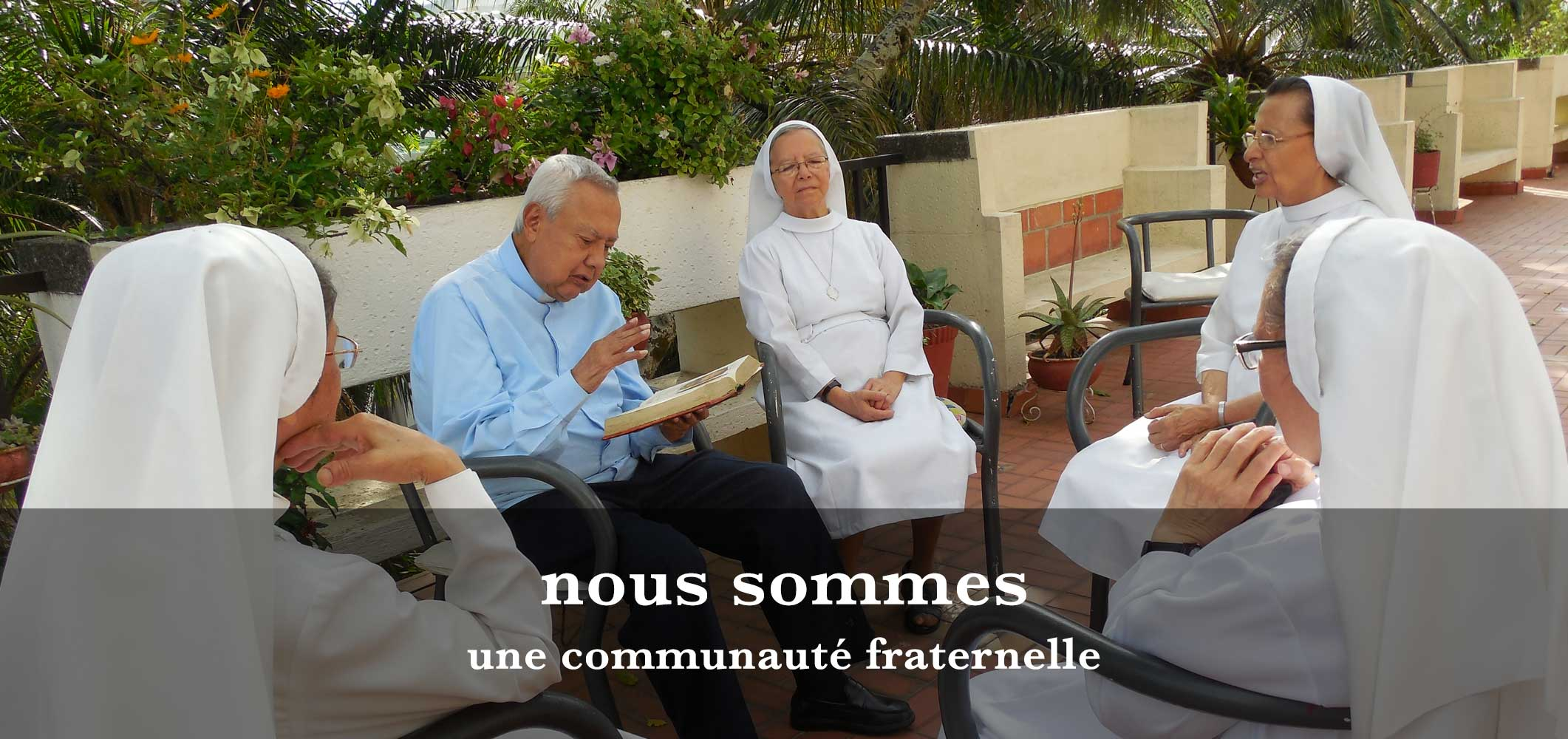 Photo de soeurs Oblates en formation