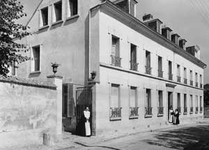 Photo d'archives : La Maison Blanche,  à Hanneucourt